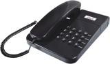Ptel PT-22 Corded Landline Phone (Black)