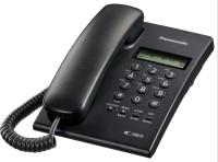 Panasonic KX-TSC60SXB Corded Landline Phone(Black)
