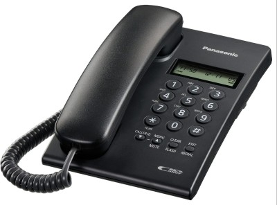 Panasonic KX-TSC60SXB Corded Landline Phone(Black)