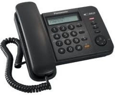Panasonic KX-TS580MX Corded Landline Phone(Black)