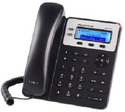 Grandstream GXP1620 Corded Landline Phone with Answering Machine(Black)