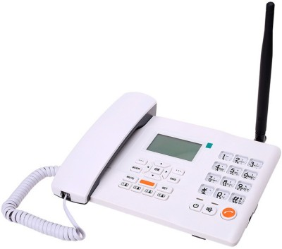 Huawei F501 Wireless Gsm Landline Phone Cordless Landline Phone(White)