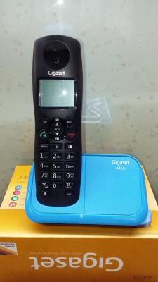 Gigaset A450 Cordless Landline Phone(Black & Blue)