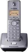 Panasonic KX TG 2711 Cordless Landline Phone(Black, Silver)