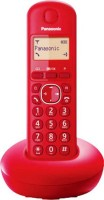 Panasonic KX-TGB210 Cordless Landline Phone(Red)