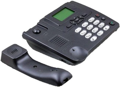 A Connect Z 3125i MDR-113 Cordless Landline Phone with Answering Machine(Black)