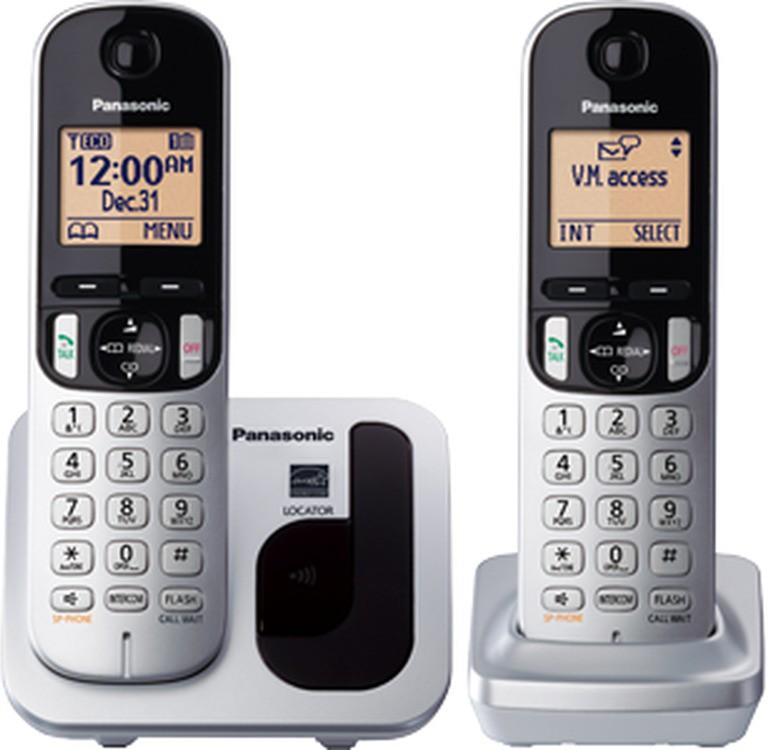 Panasonic KX-TGC212 Cordless Landline Phone class=