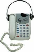 Sonics HT-882- HS Corded Landline Phone(White)