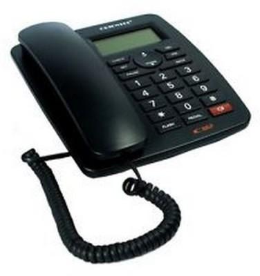 Oriental KX-T1577CID Corded Landline Phone(Black)