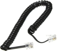 Revolution spring wire Corded Landline Phone(Black)
