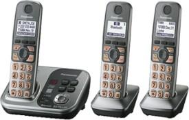 Panasonic PA-KX-TG7733 Cordless Landline Phone