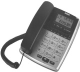 Uniden AS7402 Corded Landline Phone (Sil...