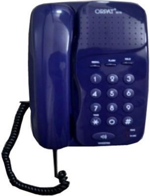 Orpat 1010 Corded Landline Phone(T.Blue)