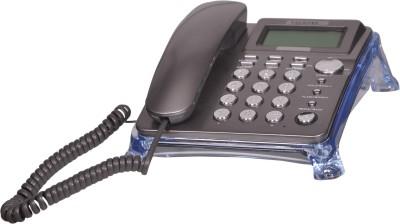 Talktel F-10 GR Corded Landline Phone(Grey)
