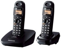 Panasonic KX-TG 3612 Cordless Landline Phone(Black)