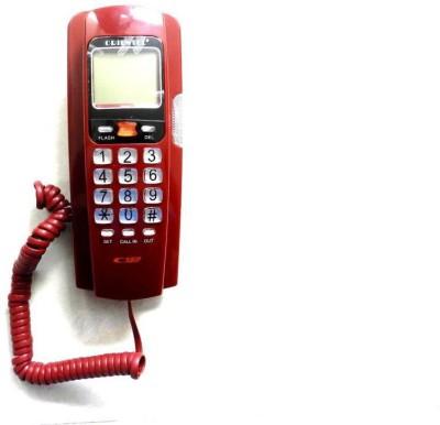 Italish GP-PM125PM Corded Landline Phone(Red)
