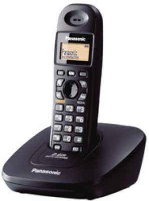 Panasonic KXTG-3615BX 2.4 GHz Cordless Phone(Black)