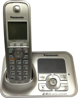 Panasonic KXTG-3721SX Cordless Digital Landline Phone(Silver)