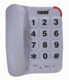 Tokmo TL-1000 Corded Landline Phone (Whi...
