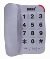 Tokmo TL-1000 Corded Landline Phone(White)