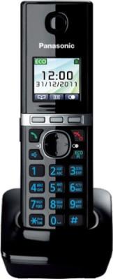 Panasonic PA KXTG8051 Cordless Landline Phone with Answering Machine Black  available at Flipkart for Rs.5000