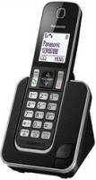 Panasonic KX-TGD310BX Cordless Landline Phone(Black)