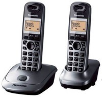Panasonic KX-TG3552SXW Cordless Landline Phone(Grey & Black)