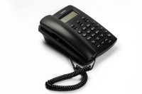 Beetel M 56 Corded Landline Phone(Black)