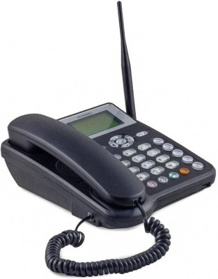 Huawei ETS 5623 SIM Card enabled Rechargeable Cordless Landline Phone(Black)