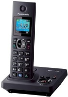 Panasonic KX-TG7861 Cordless Landline Phone(Black)