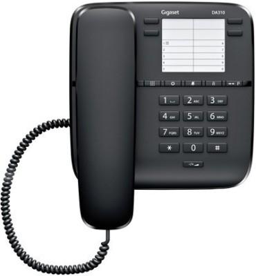 Gigaset DA310 Corded Landline Phone(Black)