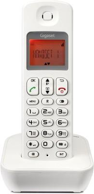 Gigaset A100 White Cordless Landline Phone(White)