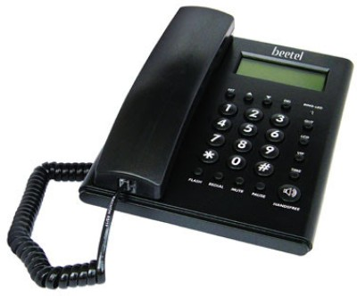 Beetel M52 Corded Landline Phone(Black)