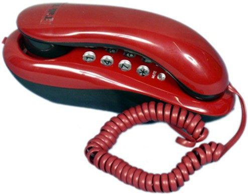 View Shopo KX-T333 Telephone Corded Landline Phone(Red) Home Appliances Price Online(Shopo)