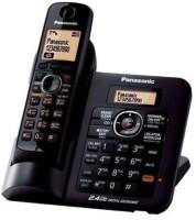 Panasonic Kx-Tg3811sxm Cordless Landline Phone(Black)