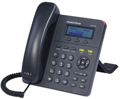 Grandstream GXP2130 Corded Landline Phone(Black)