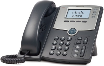 Cisco SPA 504G 4-Line IP Phone Corded Landline Phone