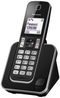 Panasonic PA-KX-TG310 Cordless Landline Phone(Black)