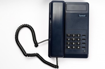 Beetel B11 Corded Landline Phone(Dark Blue)