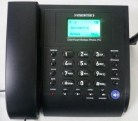 VisionTek 21G GSM Walky Corded Landline Phone(Black)
