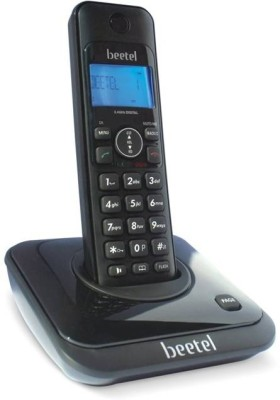Beetel X63 Cordless Landline Phone(Black)