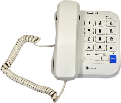 Sonitel ST-901 Corded Landline Phone(White)