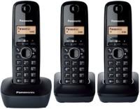 Panasonic KX-TG 1613 Cordless Landline Phone(Black)