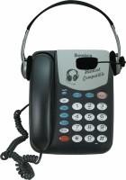 Sonics HT-882-HS Corded Landline Phone(Black)