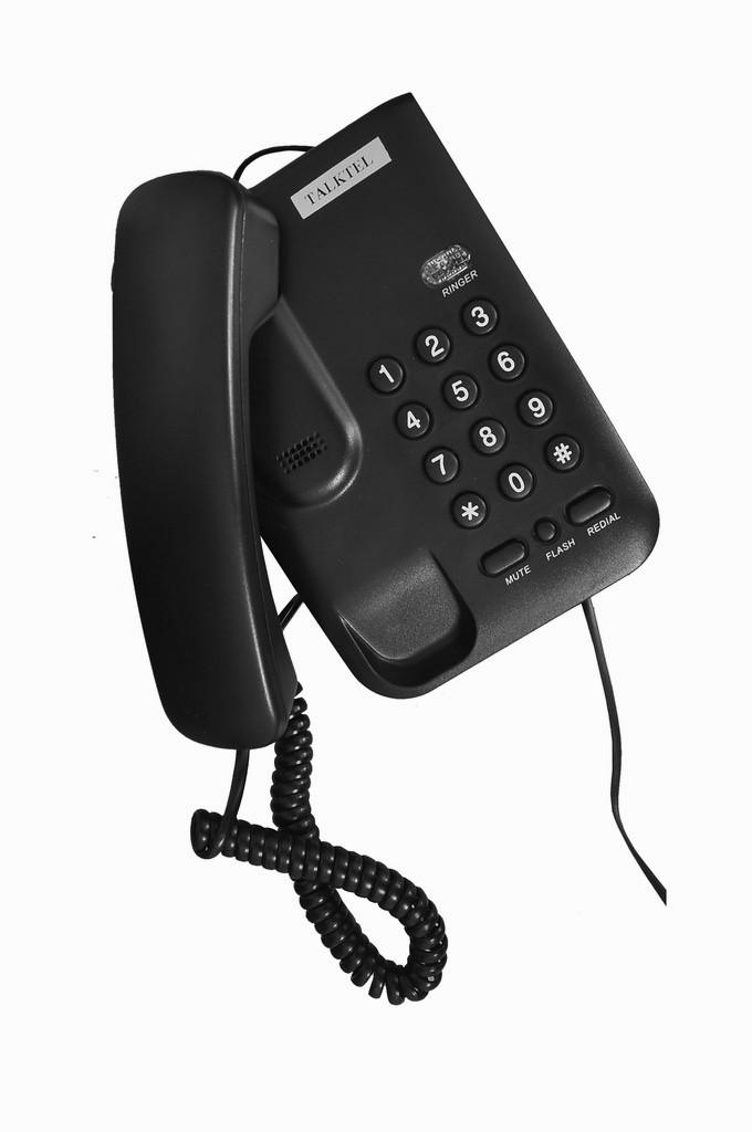 View talktel f33 bk Corded Landline Phone(Black) Home Appliances Price Online(talktel)