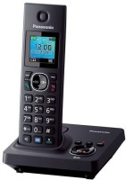 Panasonic PA-KX-TG7861 Cordless Landline Phone(Black)