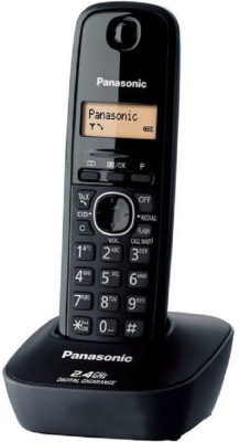 Panasonic Kxtg-3411bx Cordless Landline Phone(Black)