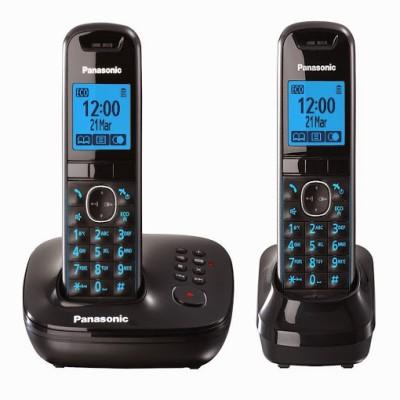 Panasonic PA-KXTG5522 Cordless Landline Phone with Answering Machine