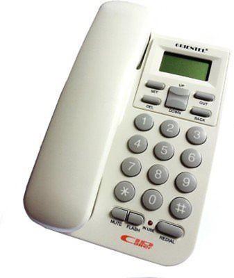 Italish Home Official White Landline Telephone Corded Landline Phone(White)