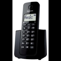 Panasonic PA-KX-TG110 Cordless Landline Phone(Black)